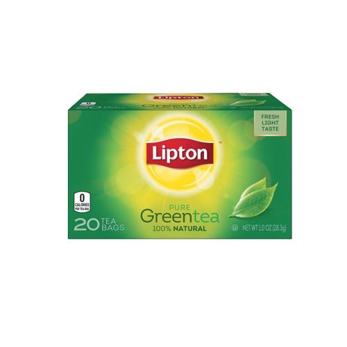 Lipton Yellow Label Green Tea Bags Imported