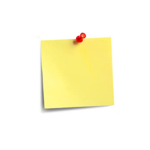 Yellow Sticky Notes Chinese Brand