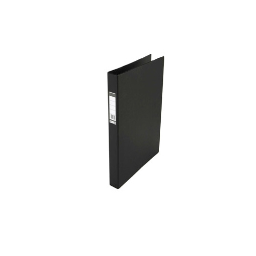 Black Fiber D-Ring Folder