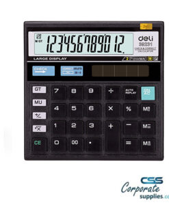 Deli 120-Check Calculator 12-DIGIT (E39231)