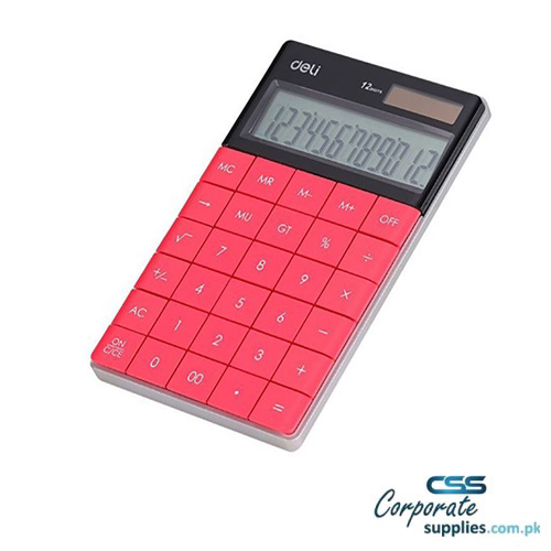 Deli Modern Calculator 12 Digit (1589P)
