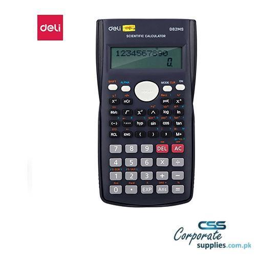 Deli 240 Function Scientific Calculator 10+2 Digits (82MS)