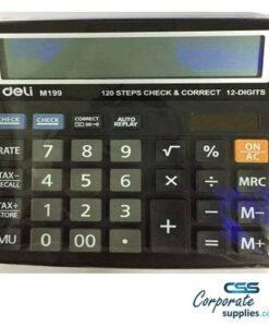 Deli Basic Calculator Basic Calculator 12 Digit (Model 19920)