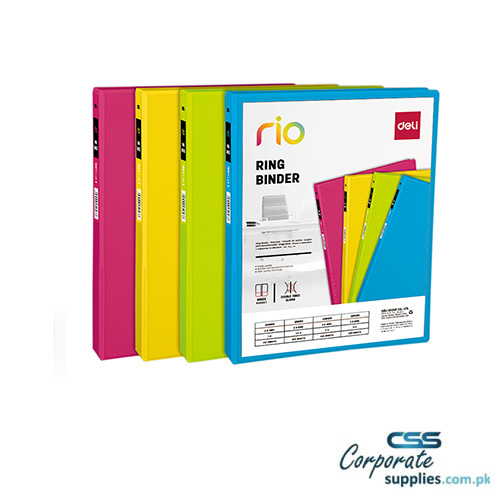 Deli D-Ring View Binder A4 4C (10100)
